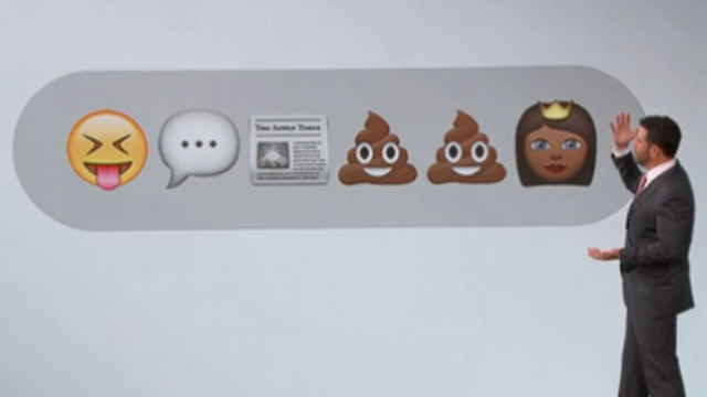 Jimmy Kimmel uses emojis to get to the heart of the Nicki Minaj-Miley Cyrus VMAs incident.