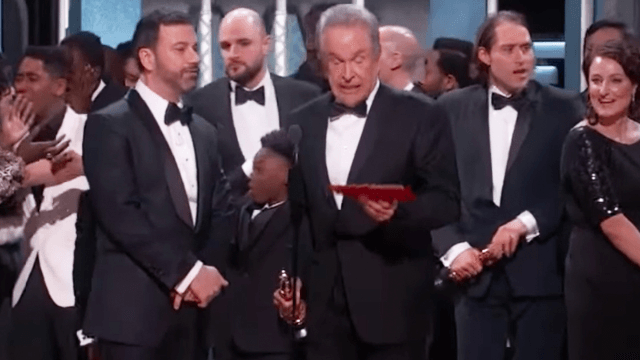 Jimmy Kimmel reveals exactly what happened during that ridiculous Oscars finish.