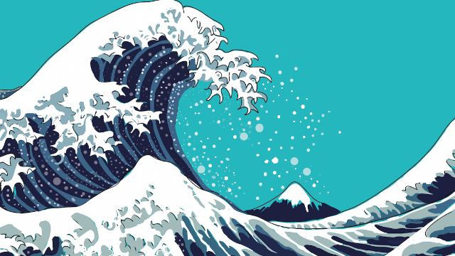 This guy thought he was ordering a painting of waves. He got a surprise.