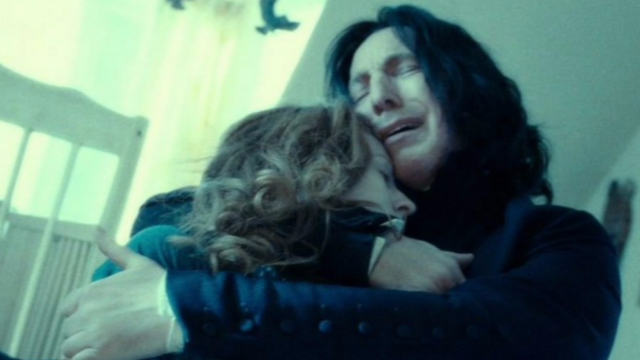J.K. Rowling finally revealed a secret about Snape that Alan Rickman wouldn't.