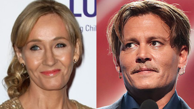 J.K. Rowling explains her controversial casting of Johnny Depp in the sequel to 'Fantastic Beasts.'
