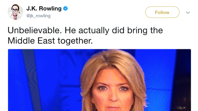 J.K. Rowling Just Dragged Trump On Twitter In The Most Hilarious Way