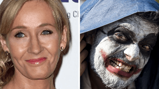 J.K. Rowling sends troll to hell for referencing 'the mark of the beast' in Harry Potter.