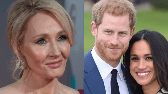 Meghan Markle was called 'unsuitable' for Prince Harry. Then J.K. Rowling stepped in.