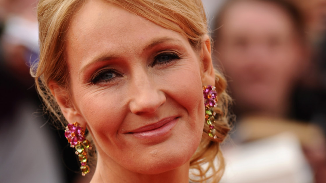 J.K. Rowling's latest tweet is an inspiration to fans of gender fluidity and procrastination alike.