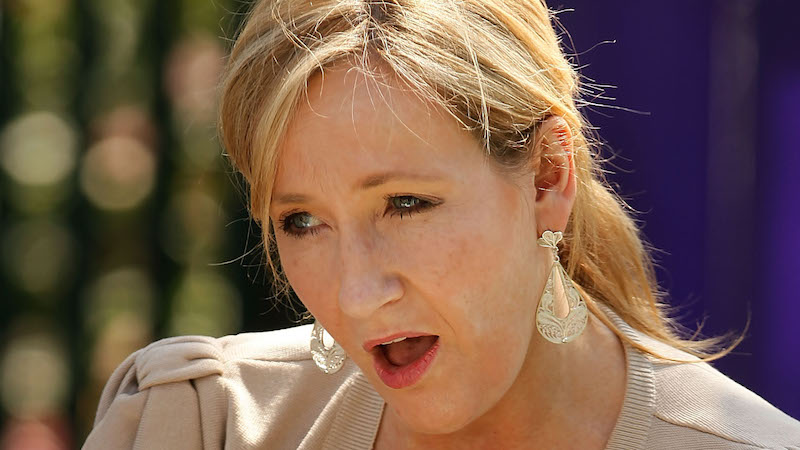 J.K. Rowling upped her Twitter game by shutting down a troll with some rap lyrics.