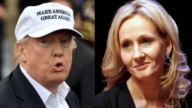J.K. Rowling speaks out about the London attacks, slams 'alarmist blowhard' Donald Trump.