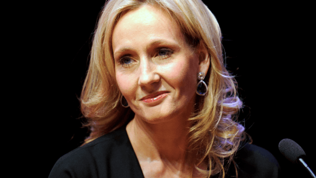 J.K. Rowling begs fans not to buy a stolen short story you desperately want to read.