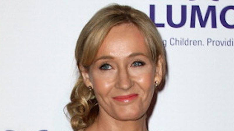 J.K. Rowling tweets back encouragement for a depressed fan. So this is how you battle real life Dementors.