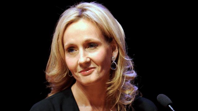 JK Rowling crucifies Twitter user over tasteless 'joke' about Trump cutting women's health funding.