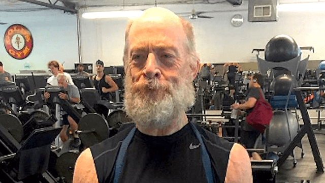61-year-old J.K. Simmons got jacked as hell for his role in the 'Justice League' movie.