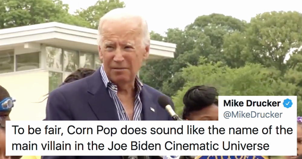 Image result for joe biden corn pop