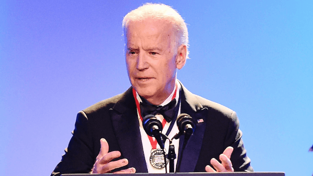 Your cool uncle Joe Biden officiated a gay wedding for White House staffers.