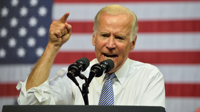 Joe Biden flipping out at an activist has been memeified, young lady.
