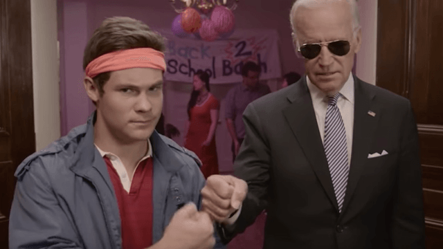 Cool guy Joe Biden went undercover at a college party to prevent sexual assault.