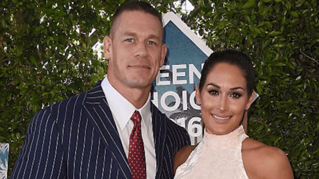 John Cena proposes to Nikki Bella at WrestleMania, bodyslams you right in the feels.