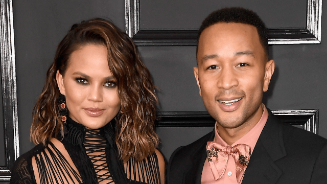 Chrissy Teigen and John Legend caught their daughter's first word on film. It wasn't 'slay.'