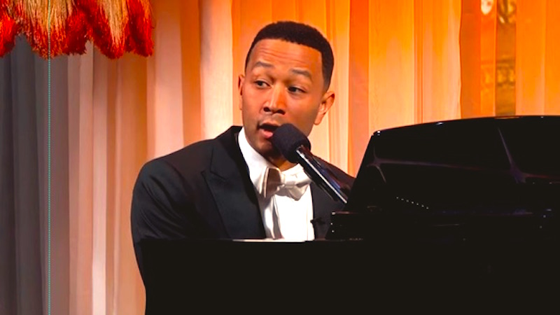 John Legend gave the 'Downton Abbey' theme some hilarious and very fitting lyrics.
