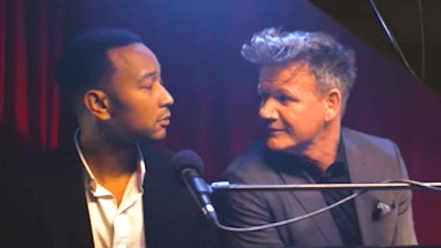 Gordon Ramsay's insults sound so much lovelier when John Legend is singing them.