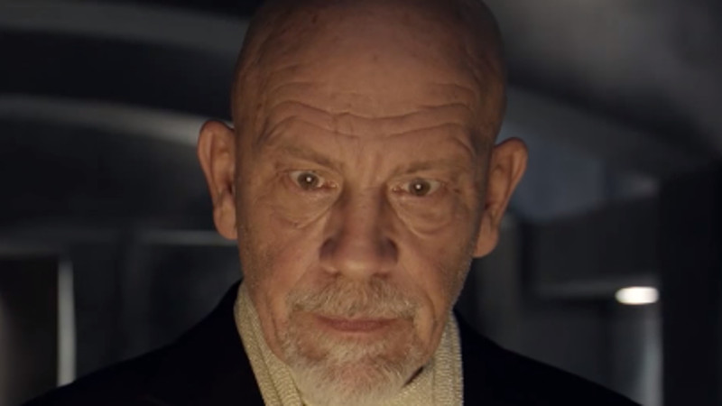 John Malkovich has made a movie that won't be seen for 100 years.