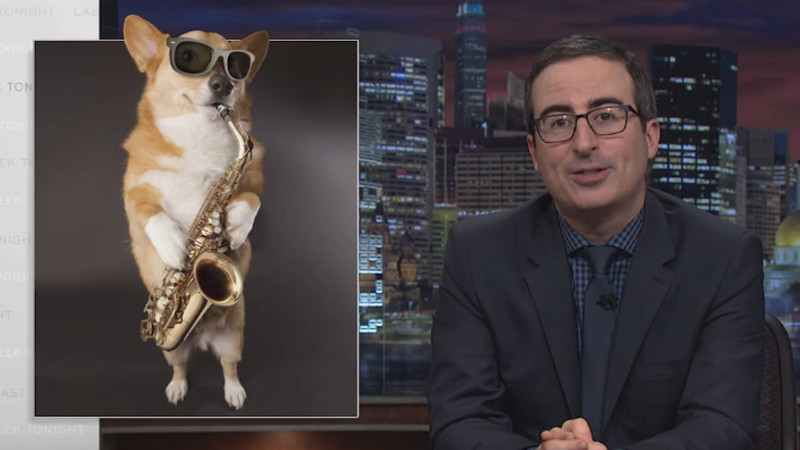 John Oliver shared a hilarious 'in memoriam' reel of graphics that got cut from the show.