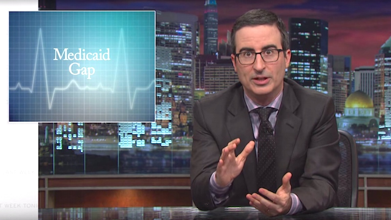John Oliver talks the Medicaid Gap and why you should actually care about tomorrow's elections.