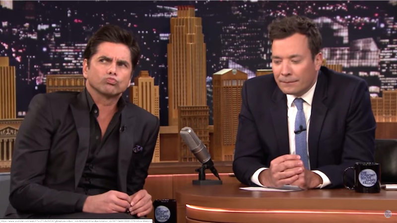 John Stamos and Jimmy Fallon tried and failed to guess what the heck kids are talking about.