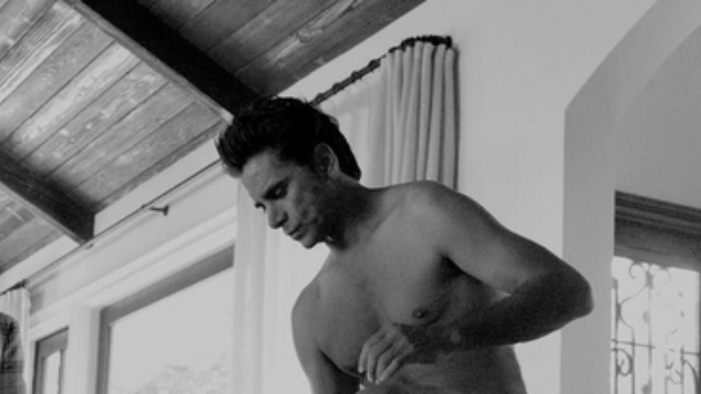 We fail to see the link between John Stamos' 52nd b-day and this pantsless Instagram, but OK.