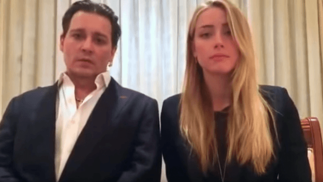 Johnny Depp and Amber Heard gave a very serious apology for smuggling their Yorkies into Australia.