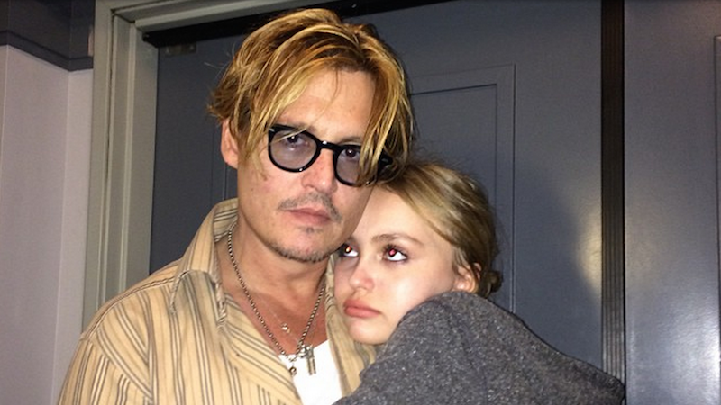 """Johnny Depp is """"worried"""" about daughter Lily-Rose's fame. Meanwhile, your crush deepens."""