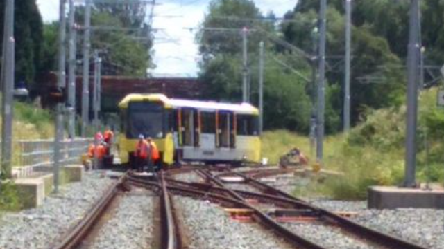 A joke about a dude's ponytail started a fight, then derailed a tram.