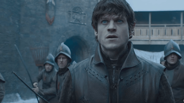 'Game of Thrones' actor reveals the hazards of acting opposite a revved up Jon Snow.