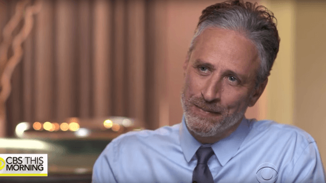 Jon Stewart gives America some much needed post-election comfort in 'CBS This Morning' interview.