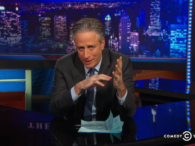 Jon Stewart on what comedy means (and what it shouldn't) in the wake of the Charlie Hebdo attack.