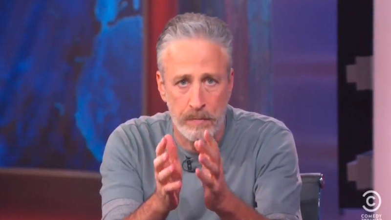Jon Stewart returned to 'The Daily Show' to shame Congress like only he can.
