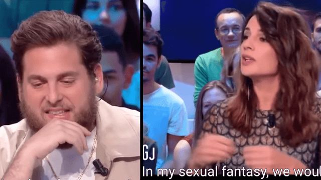 Jonah Hill gets brutally roasted by an overly comfortable French TV personality.