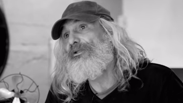 Homeless man undergoes incredible makeover and cries tears of joy when he looks in the mirror.