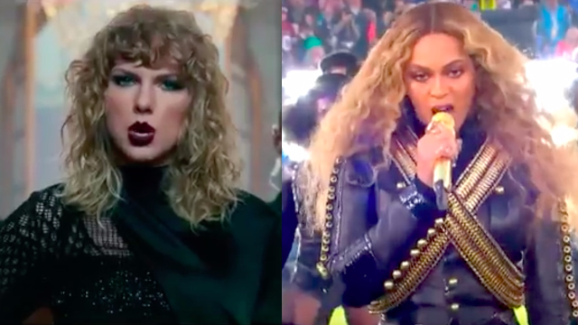 Director of Taylor Swift's new music video responds to claims that it rips off Beyoncé.
