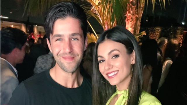 Josh Peck and Victoria Justice: Their Adorable Nickelodeon Reunion Pic