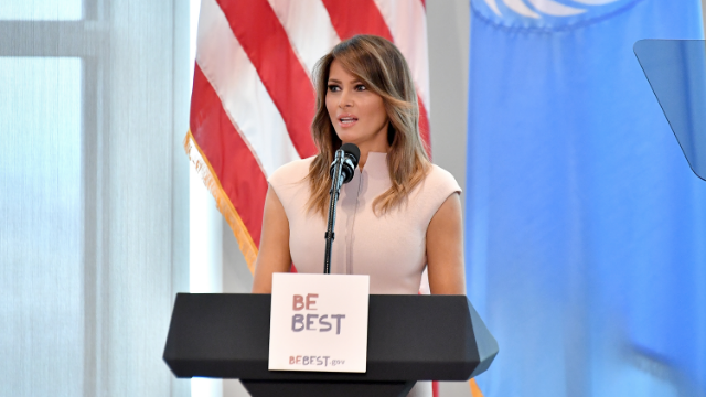 Melania Trump invites boy named Trump to the State of the Union as 'anti-bullying' prop. Be best.