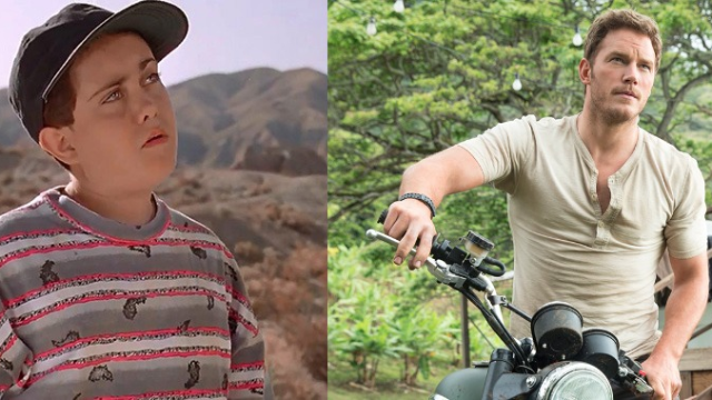"""Annoying """"Jurassic Park"""" kid finally responds to theory he's Chris Pratt's character as a child."""