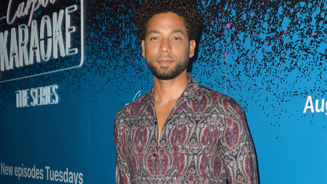 Jussie Smollet gives moving speech at recent performance. We're not crying, you're crying.
