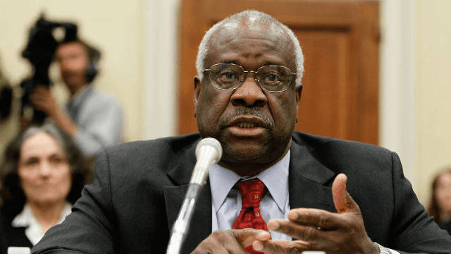 Female lawyer accuses Justice Clarence Thomas of groping her in 1999.
