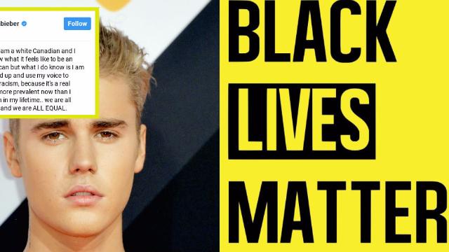 Justin Bieber posted support for Black Lives Matter on Instagram. People aren't convinced.