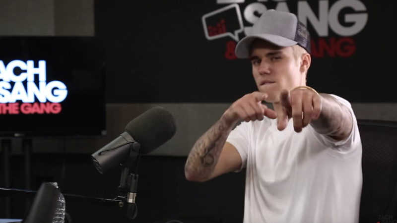 Justin Bieber responded to his dad's comment about his penis, and what he feeds it.