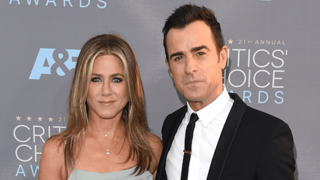 Justin Theroux gave Jennifer Aniston an empty piñata on her birthday for the saddest reason.