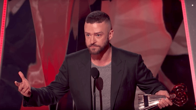 Justin Timberlake's inclusive iHeartRadio Music Awards speech is just what America needs to hear.