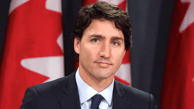 Someone found Justin Trudeau's first magazine cover to prove he's been perfect since birth.