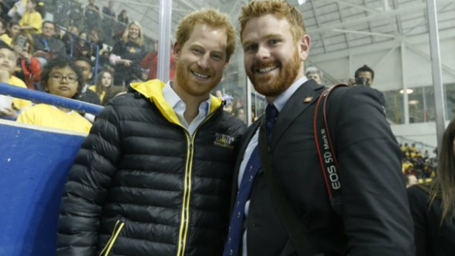 Justin Trudeau used Prince Harry's doppelganger to play a very mean prank.