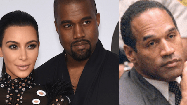 Kanye calls Kim Kardashian the 'female O.J.' in a new song by Schoolboy Q. It fits like a glove.